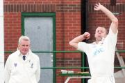 Greenmount bowler Mark Stewart took 14 wickets over two days last weekend