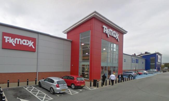 TK Maxx. Picture: Google Maps
