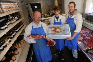 Family butchers savours success of 'first class' meat hamper delivery scheme