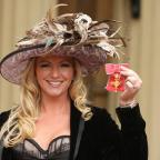 The Bolton News: Founder of Ultimo lingerie Michelle Mone with her OBE. Reports say she is to join the House of Lords.