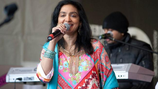 TALENT: Najma Akhtar is appearing at the Railway Venue in Bromley Cross in October