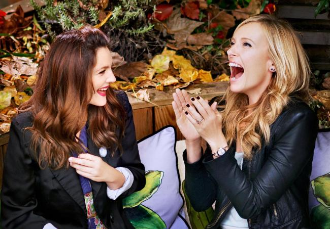 FRIENDS: Drew Barrymore and Toni Collette star as best pals Jess and Milly in Miss You Already