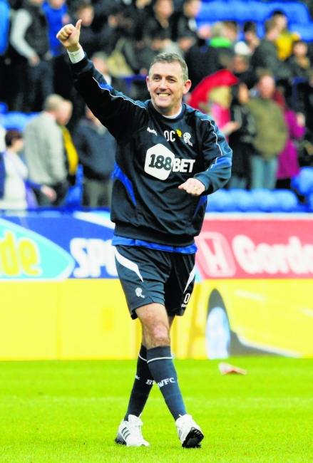 Owen Coyle in happier times at Bolton Wanderers