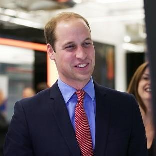 Prince William in visit to specialist cancer hospital | The Bolton News