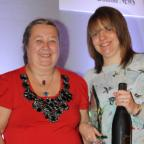 The Bolton News: OUTSTANDING: The Outstanding Contribution Award, (L/R) is presented by Jackie Winstanley to Rebecca Whittaker