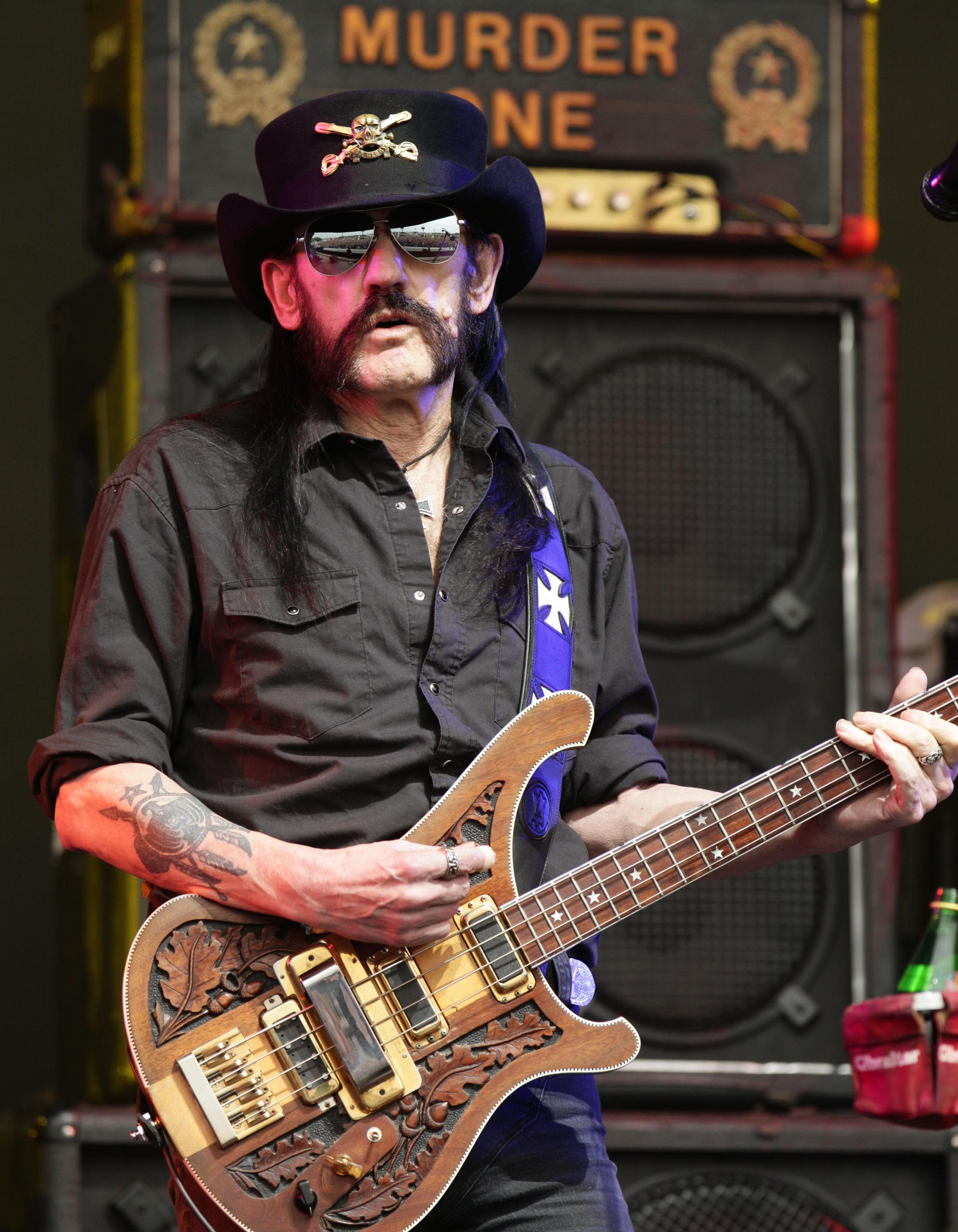 Motorhead singer Lemmy to be remembered at Festwich 2016