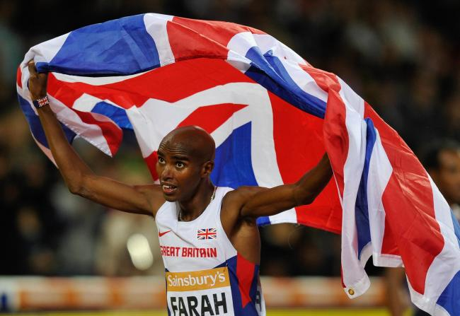 AWARD WINNER: Mo Farah finally gets the credit he deserves for continuing to break the African dominance on the 5,000m and 10,000m by winning the Sports Personality of the Year accolade