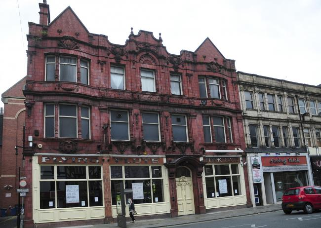 The Flying Flute, Bradshawgate, Bolton. Photo by Karen Hope, Newsquest (Bolton) Ltd, Monday August 13 2012..