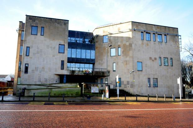 Racist spared jail after throwing knife at pub goers