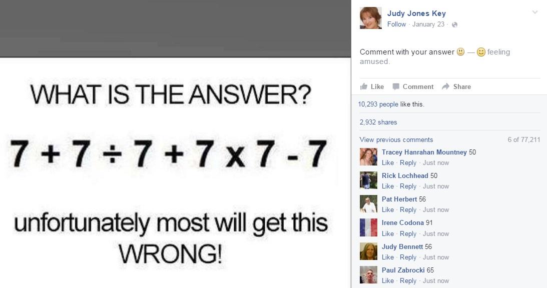 Simple Maths Problem Stumps Boltonians Can You Solve It The