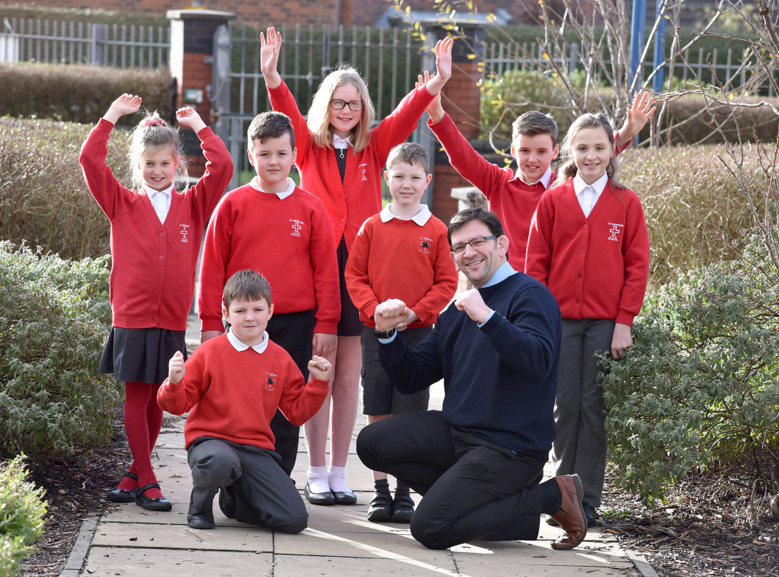 St georges westhoughton ofsted report