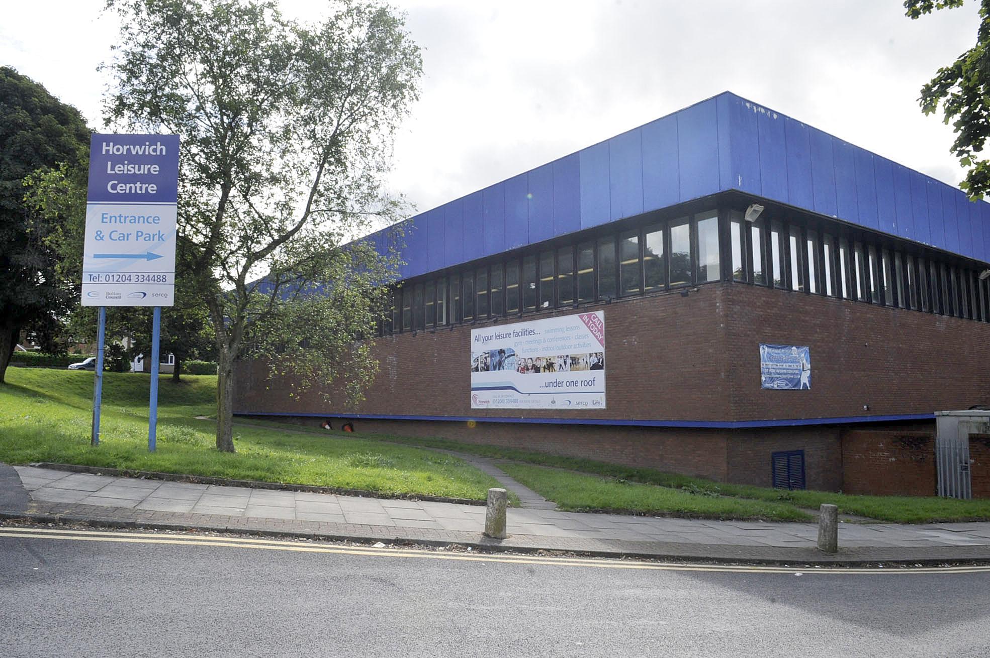 Horwich Leisure Centre being demolished 4791884