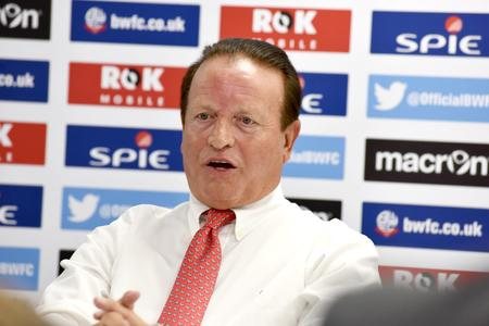 The Bolton News: CHIEF: New Bolton Wanderers chairman Ken Anderson
