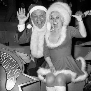 The Bolton News: Carry On legends Sid James and Dame Barbara Windsor