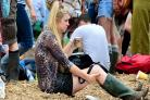 Sombre mood at Glastonbury as revellers digest EU poll result
