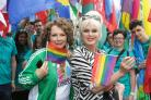 In The Name of Pride: Patsy and Edina are Absolutely Fabulous as they pose up a storm