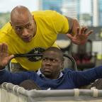 The Bolton News: Undated Film Still Handout from Central Intelligence. Pictured: Dwayne Johnson as Bob Magnum and Kevin Hart as Calvin Joyner. See PA Feature FILM Digest. Picture credit should read: PA Photo/Universal. WARNING: This picture must only be used to accompany