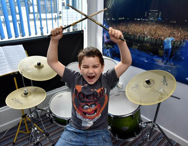 The Bolton News: Cameron Tate has been awarded 91pc in his grade five drumming exam