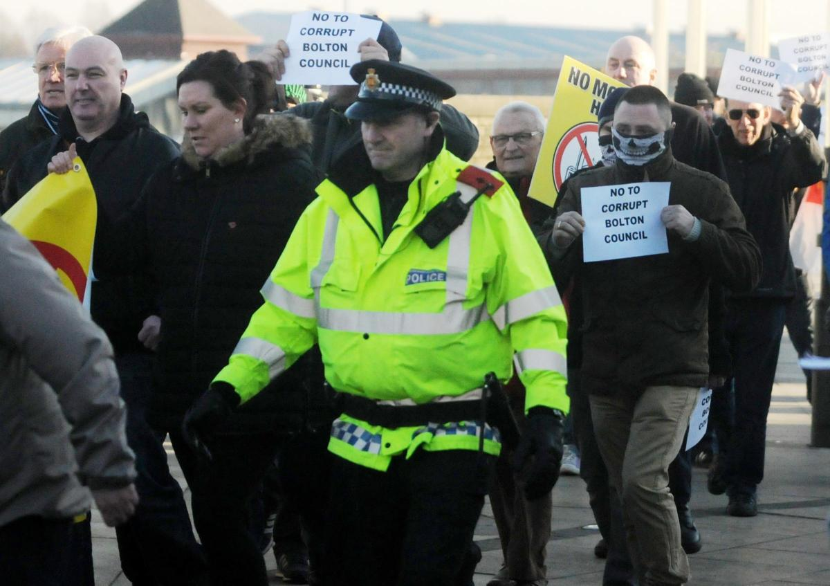 Bolton people protest against corrupt council aiding Islamization