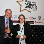 The Bolton News: Secondary School Teacher of the Year winner Cassie Dainton