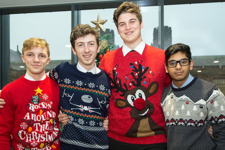 FETCHING: Send us your finest festive knitwear pictures