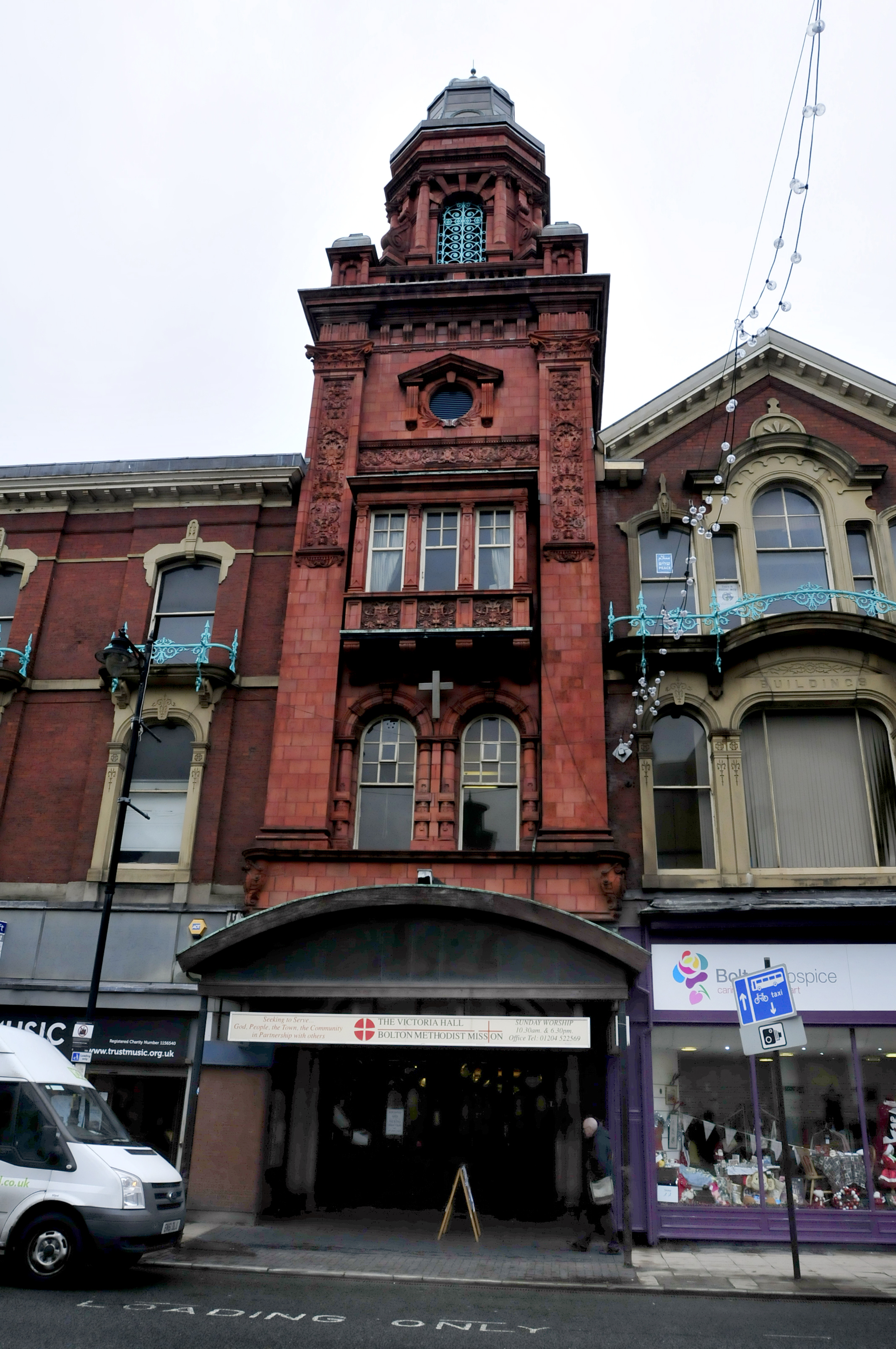 Victoria Hall, Knowsley Street, Bolton.