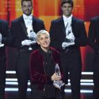 The Bolton News: People's Choice Awards: Ellen DeGeneres became the most decorated winner in the award show's history, plus other winners