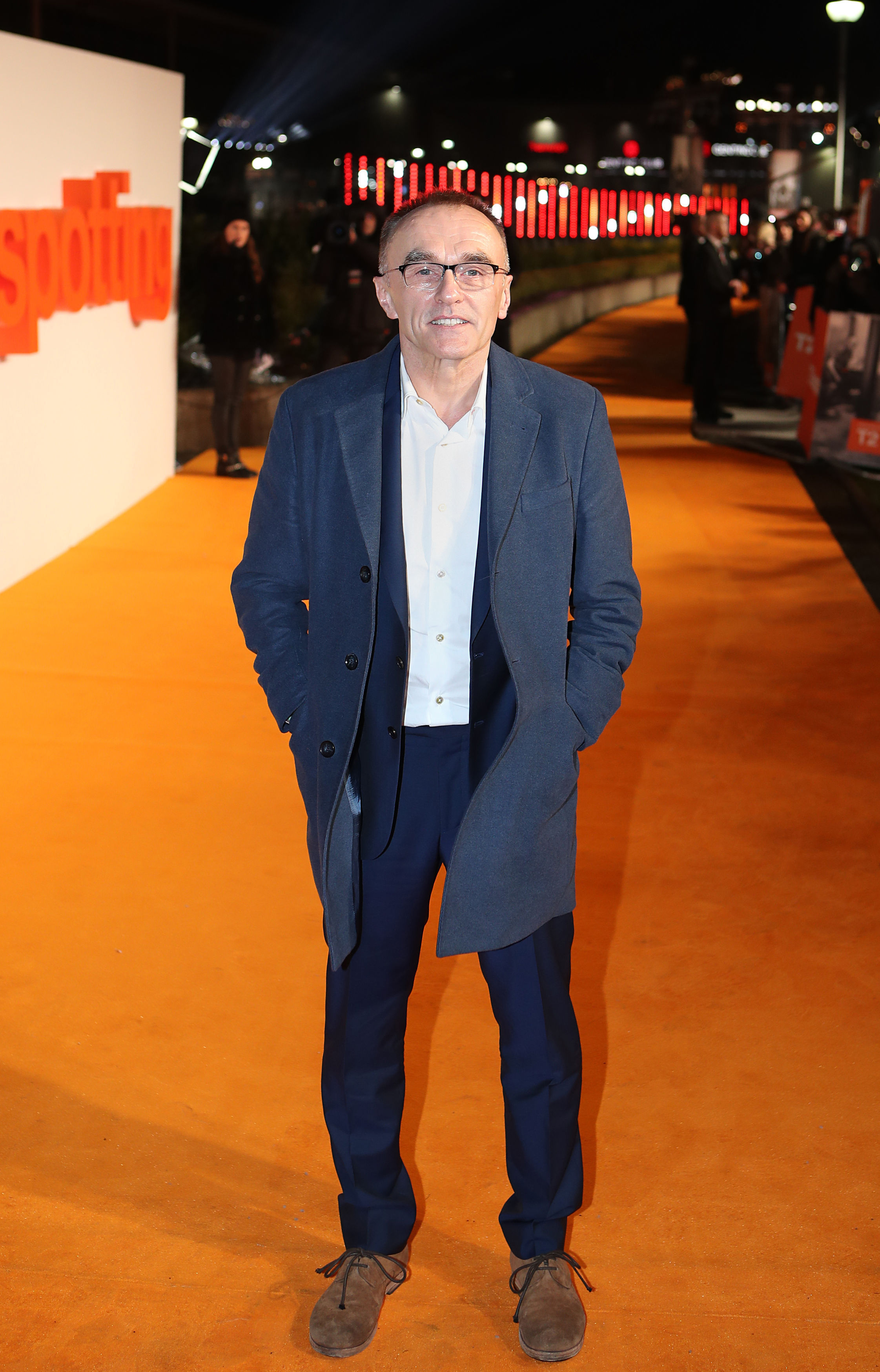 Danny Boyle arriving at the world premiere of Trainspotting 2 at Cineworld in Edinburgh. Picture: Jane Barlow/PA Wire.