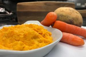 VEGGIE MIGHT: Carrot and swede mash is the perfect side dish