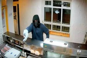 Attempted armed robber threatens takeaway staff in 'terrifying incident'