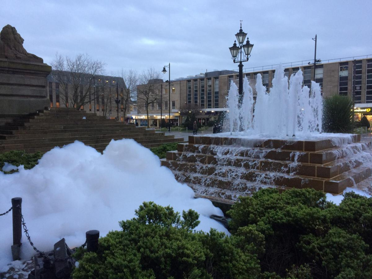 Pranksters fill town centre fountain with bubbles ?type=responsive-gallery-fullscreen