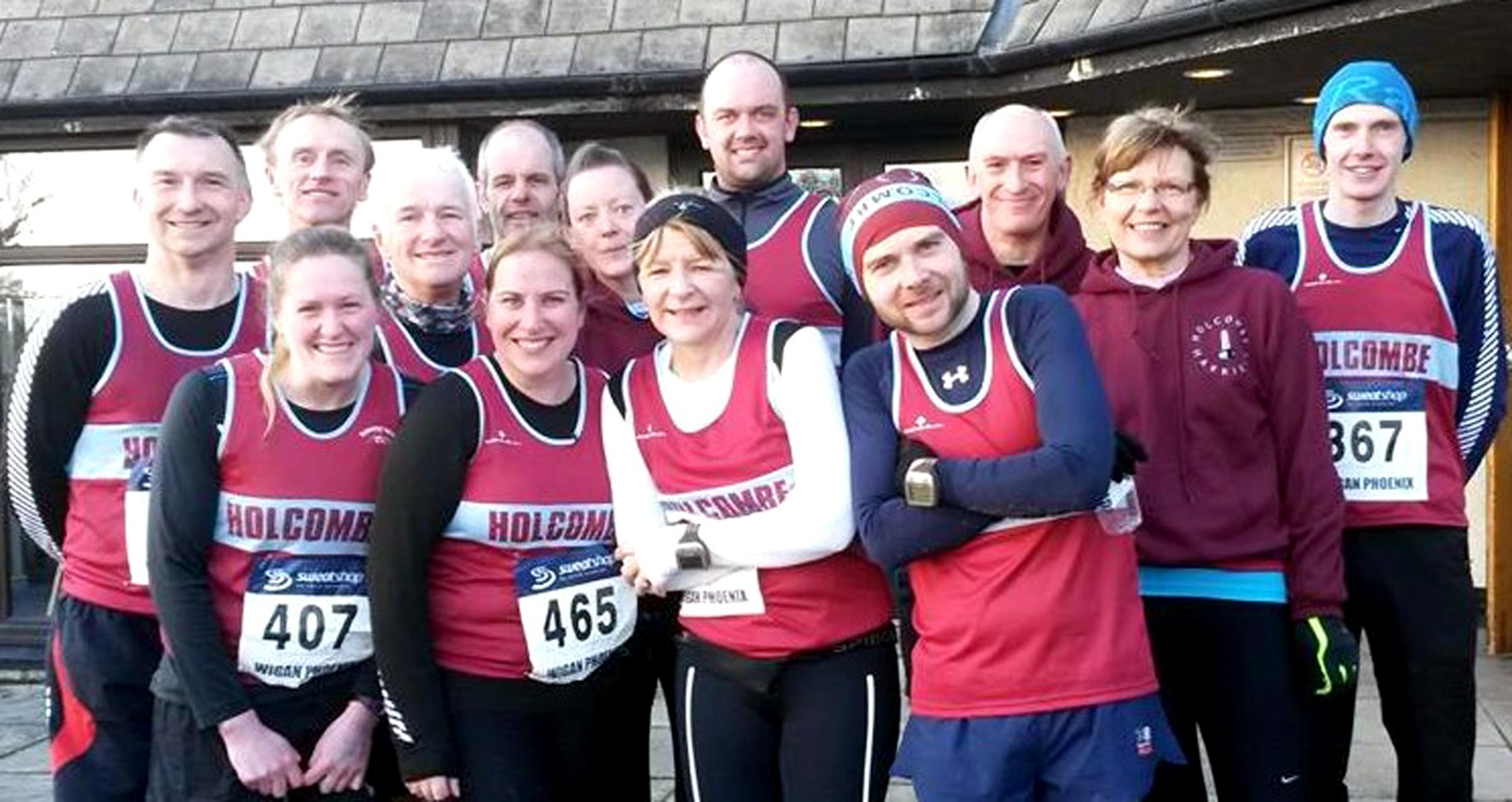 FELL GUYS: Members of Holcombe Harriers who have grown from humble beginnings