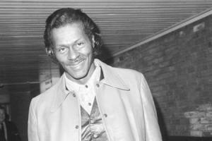Chuck Berry.. Picture: PA.