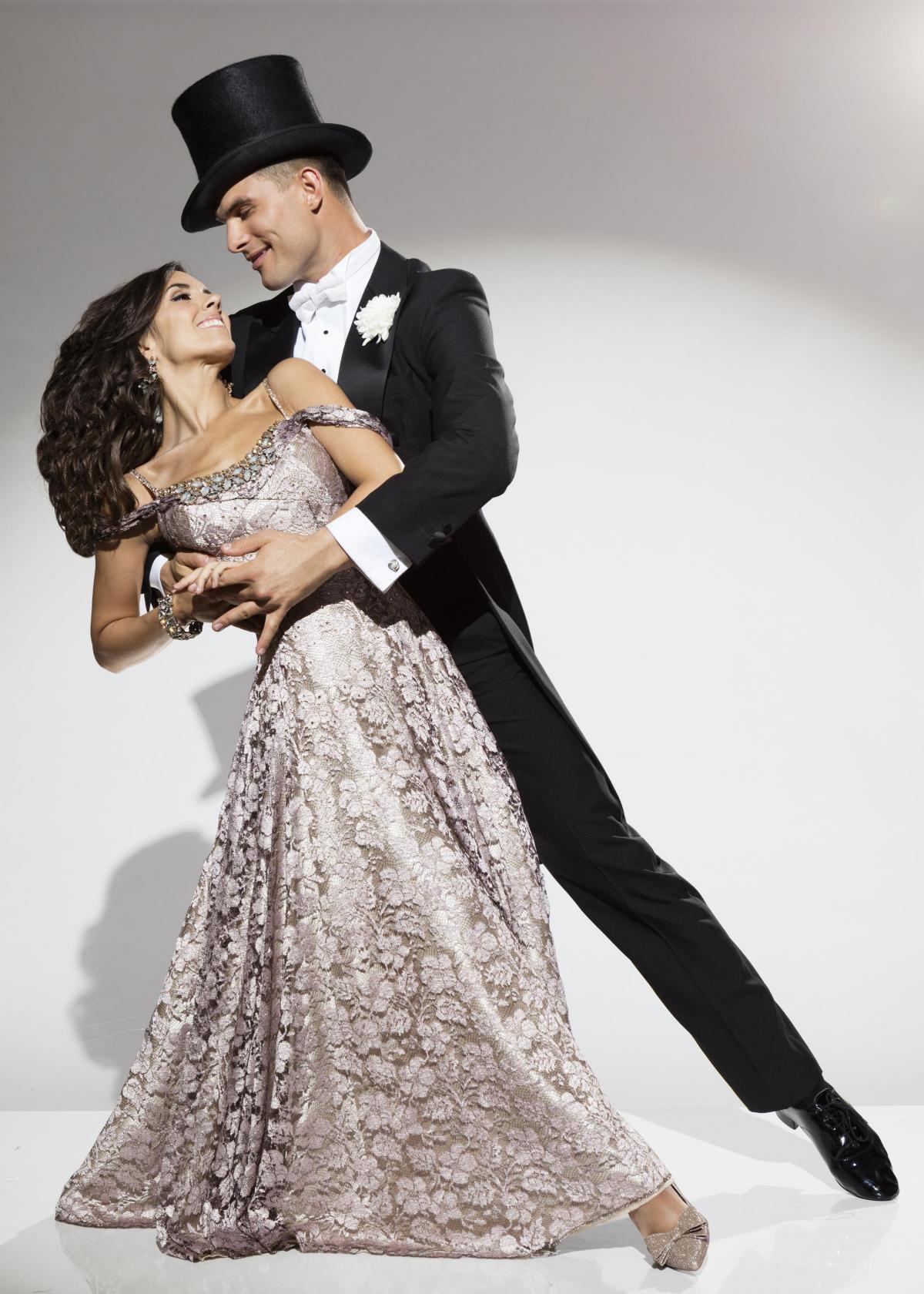 Strictly Come Dancing Stars Janette Manrara And Aljaz Skorjanec