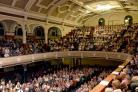 The audience packed out the Victoria Hall for the Smithills and Eagley Band In Hollywood! concert for the Bolton Lions