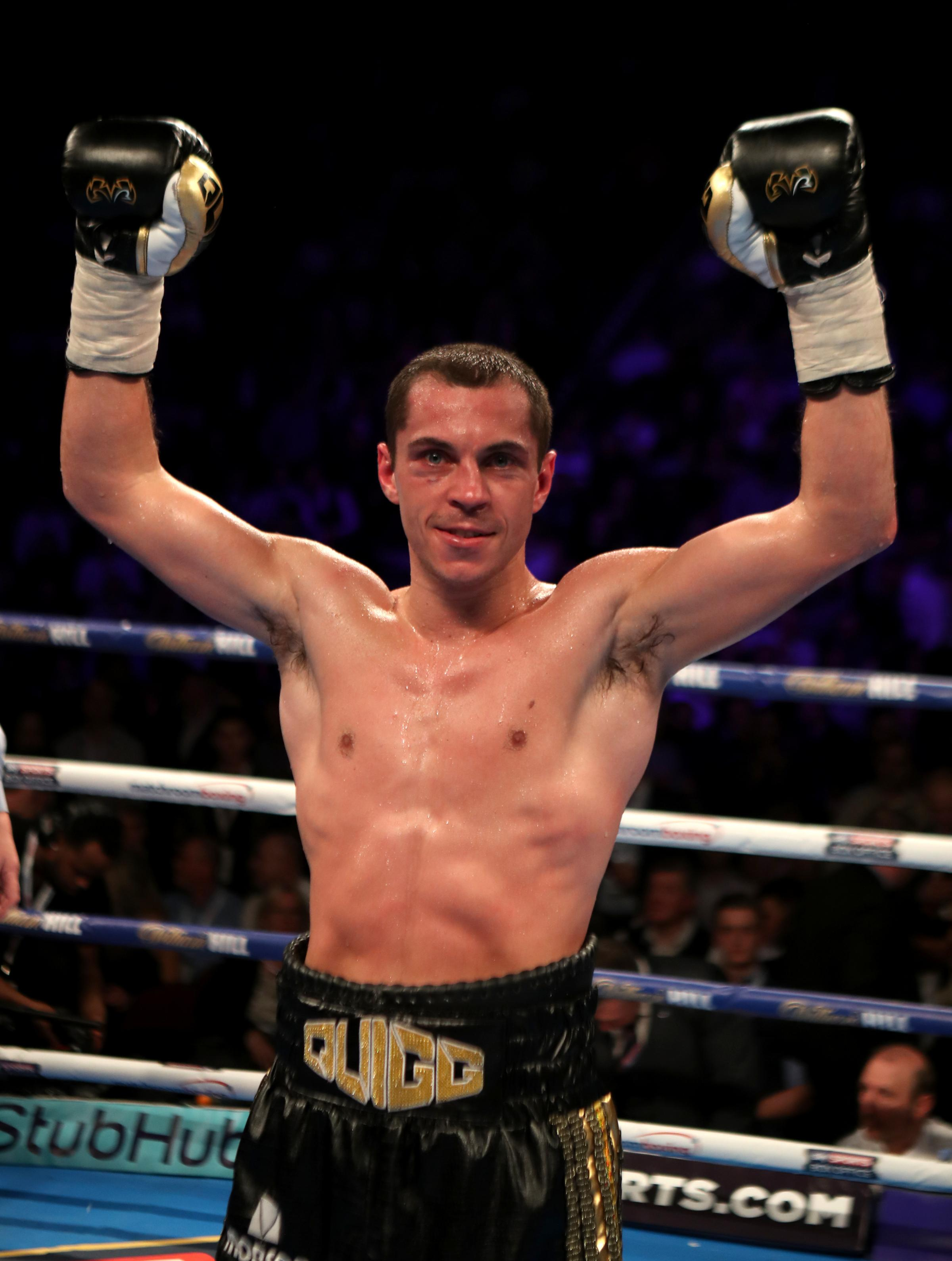 RING RETURN: Scott Quigg is back in action in Monte-Carlo on Saturday