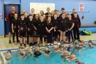 Members of the Bolton Metro Swim Squad, who have had a record number of swimmers qualify for the regional championships