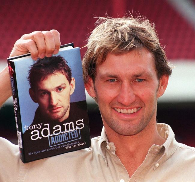 HELPING HAND: Former England skipper Tony Adams set up the Sporting Chance clinic for those suffering from addiction