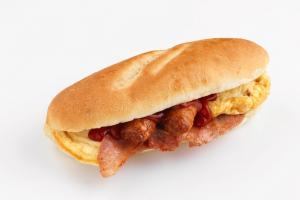 BIG: The new mega breakfast sub range has been designed for those needing a big meal to start the day