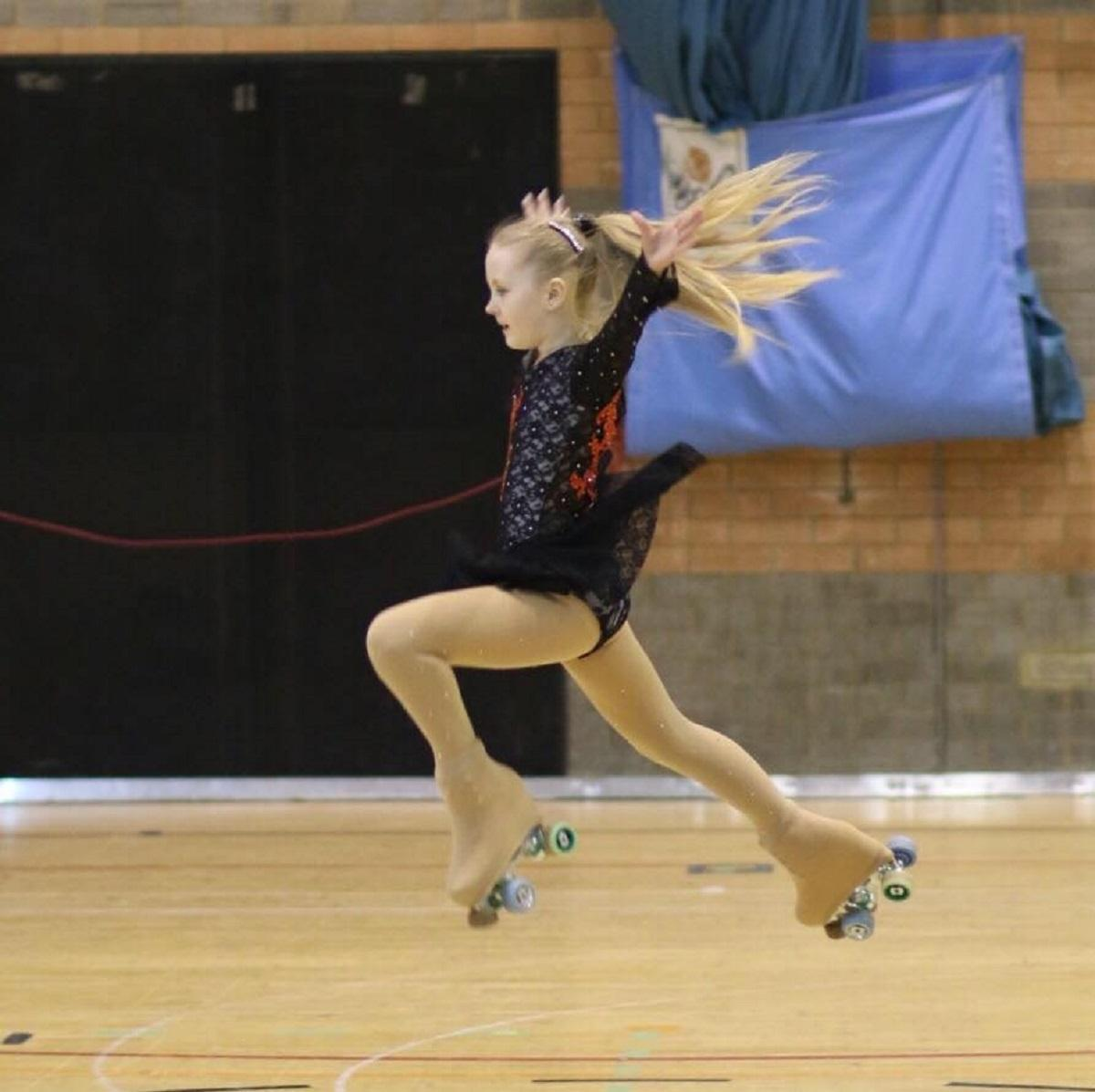 Roller skating hazel grove - Bolton Skaters On A Roll After National And International Success Jessica Heyes Competing For Bolton Artistic Roller Skating Club