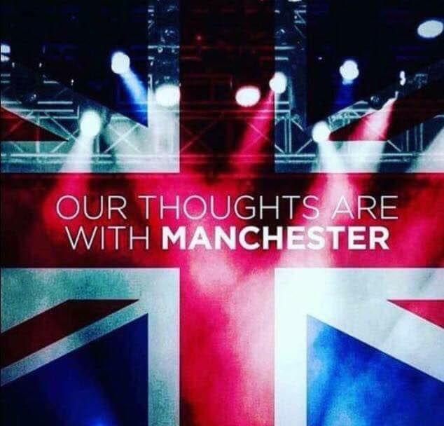 Our thoughts and prayers go out to all those families affected at the arena. Treasure each and every moment as you just don't know what's around the corner. Heartbreaking and this cannot go on. R.I.P you beautiful people 😢😢😢❤️❤️❤️.