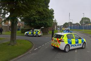 GUN: Armed police were called to Coronation Gardens, Radcliffe