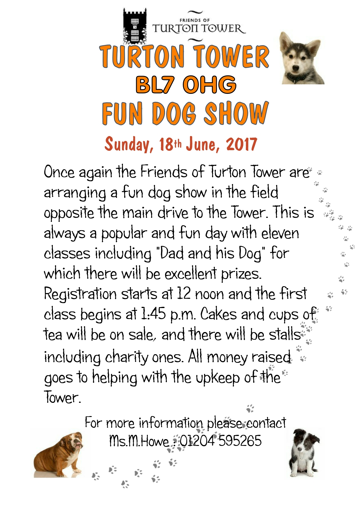 Friends of Turton Tower Famous Fun Dog Show