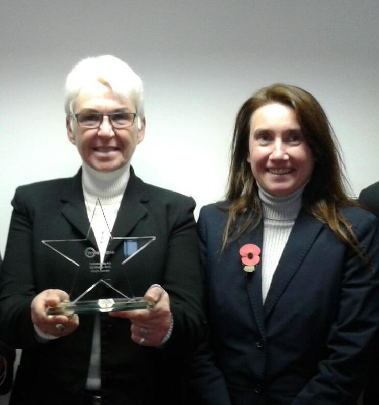 AWARD: Megin Dorrian and Nikki Wilson-Cook