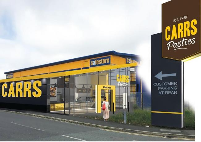 Carrs Pasties moving 6557664