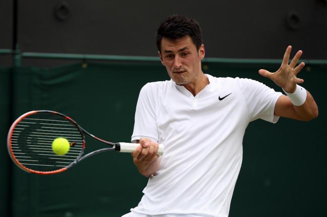 MENTAL BLOCK: Australia's Bernard Tomic says he is disillusioned with tennis after his Wimbledon exit