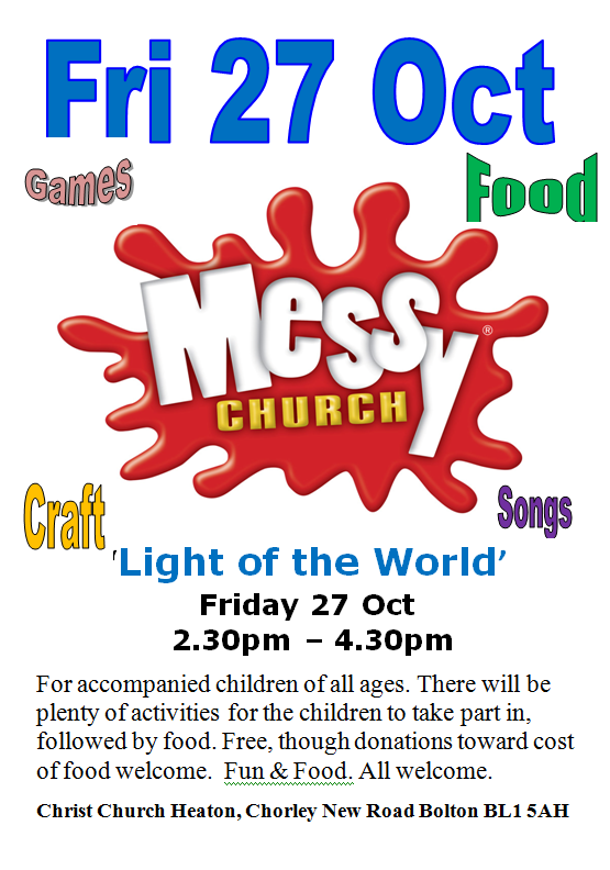 Messy Church - The Light of the World