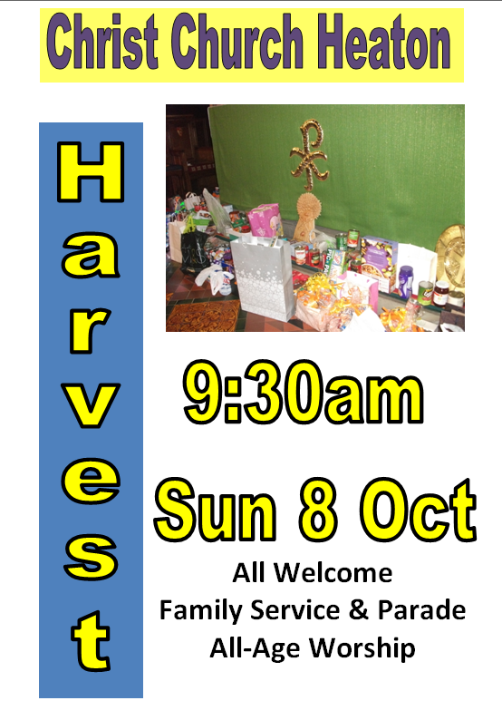 Harvest Festival Family Service & Parade