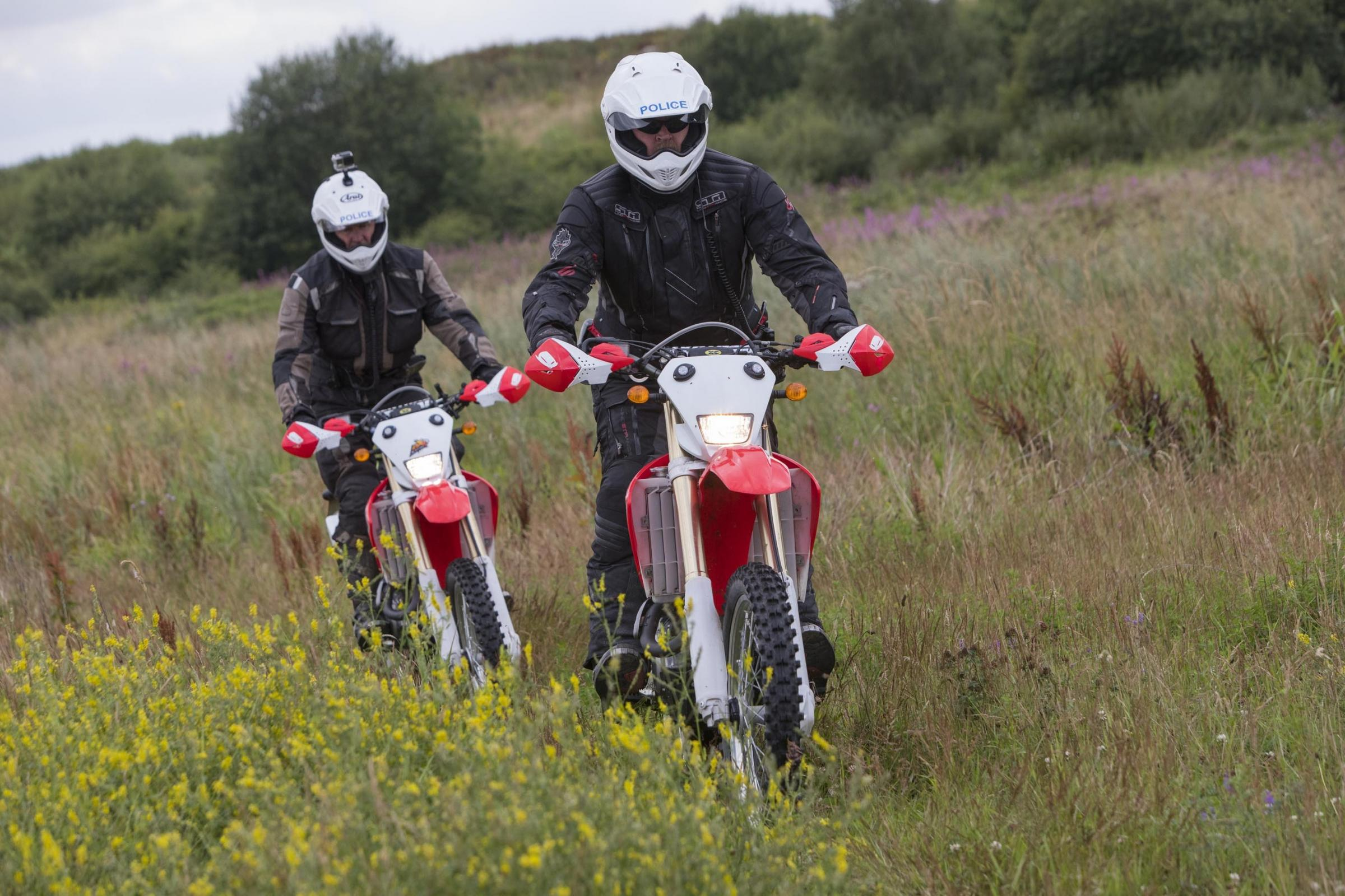 CRACKDOWN: The GMP off-road bikes