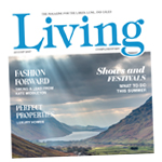 The Bolton News: kendal living august cover